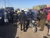 المرور تحاصر الفوضى وتضبط 395 مخالفة مرورية بمدينة 6 أكتوبر