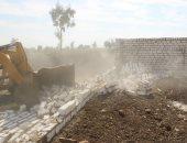 """""""زراعة كفر الشيخ"""": إزالة 54 حالة تعدٍ وتوزيع 50 ألف طن سماد"""