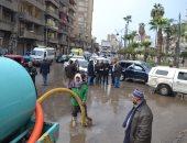 فيديو.. محافظ الغربية يتفقد حالة أنفاق وشوارع طنطا ويوجه بسرعة شفط مياه الأمطار