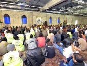 """صور.. أول صلاة جمعة بمسجد """"الفتاح العليم"""" فى العاصمة الإدارية الجديدة"""