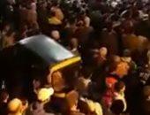 فيديو وصور.. الأهالى يشيعون جثمان شهيد الواجب بالعريش بمسقط رأسه فى دمياط