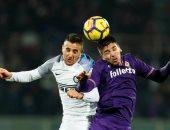 فيديو.. فيورنتينا يخطف تعادلا قاتلا من إنتر ميلان فى الدوري الإيطالي