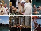 """طقوس دينية وسباحة ومرح فى احتفالات العالم بـ""""عيد الغطاس"""""""