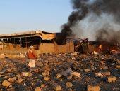 التحالف العربى يشن غارات جوية على معاقل لمليشيا الحوثى جنوب الحديدة