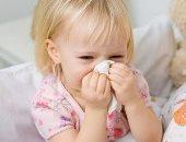 أعراض البرد والأنفلونزا عند الأطفال