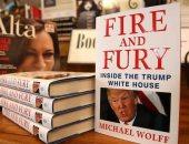 """شاهد.. """"نار وغضب"""" يقود سباق قائمة نيويورك تايمز  للكتب الأعلى مبيعًا"""