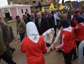 صور .. محافظ بنى سويف يطلق مبادرة شموس لا تغيب لدعم وتمكين ذوى الإعاقة