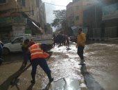 أمطار غزيرة ورياح شديدة ببعض مدن وقرى كفر الشيخ
