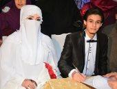 صور.. الزميل محمد تهامى زكى يحتفل بزفاف شقيقته وسط أجواء عائلية