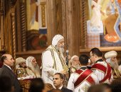 البابا تواضروس يترأس أول قداس عيد الميلاد بكاتدرائية العاصمة الإدارية الجديدة بحضور رجال الدولة