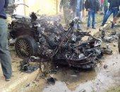 انفجار سيارة مفخخة بمدينة صيدا جنوب لبنان استهدفت قيادى بحركة حماس (تحديث)