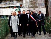 فرنسا تحيى الذكرى الثالثة لضحايا هجوم شارلى إبدو بحضور ماكرون (صور)