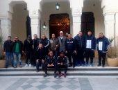 صور... الشامى يجتمع بأصحاب العضويات بعد وضع المدير التنفيذى لأموالهم فى محكمة المحلة
