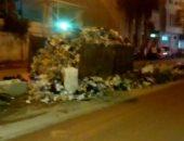 انتشار القمامة أمام مسجد الجهاد بشارع أحمد أبوسليمان فى الإسكندرية