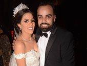 نجوم الفن يحتفلون بزفاف المخرج أحمد تمام وروميساء سامح