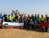 تشديدات أمنية بمنطقة الأهرامات مع بدء سباق الدراجات لجنوب أفريقيا (صور)
