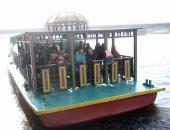 إقبال ملحوظ على الأتوبيس النهرى ونشاط مكثف للمسطحات المائية