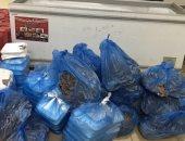 سقوط صاحب مطعم بحوزته 5 أطنان لحوم وجبن غير صالحة للاستهلاك فى 15 مايو