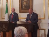 سامح شكرى: بحثت مع وزير خارجية أيرلندا استئناف الطيران المباشر بين البلدين