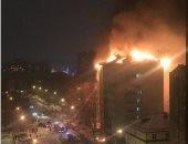 مصرع امرأة و4 أطفال فى حريق بمقاطعة روسية