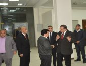 صور .. وزير القوى العاملة يتفقد مشروعات التطوير بالوزارة قبل تشغيلها