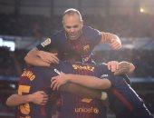 """شاهد.. """"5"""" عوامل وضعت برشلونة على طريق الفوز بلقب الدورى الإسبانى"""