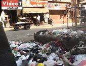 فيديو.. انتشار وتراكم القمامة أمام كشك مراقبة النظافة بإمبابة
