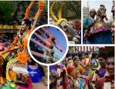 انطلاق احتفالات مهرجان الحصاد فى الهند