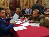 نواب البرلمان يحررون توكيلات ترشيح الرئيس السيسى لفترة رئاسية ثانية