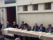رئيس مدينة تلا يفتتح الوحدة البيطرية بقرية زاوية ببمم فى المنوفية