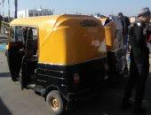 قارئ يشكو فوضى التكاتك بمدينة التل الكبير فى الإسماعيلية