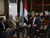 محافظ كفر الشيخ يستقبل رئيس الهيئة العامة للثروة السمكية