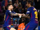 """ميسى يقود برشلونة أمام إسبانيول بكأس إسبانيا.. وسواريز على """"الدكة"""""""