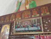شاهد .. أيقونات كنيسة الأنبا مقار بإمبابة بعد تسجلها فى عداد الآثار