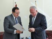 سفير مصر الجديد برام الله يبحث مع وزير خارجية فلسطين جهود القاهرة لتعزيز المصالحة
