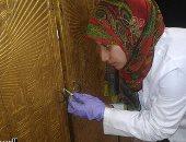 ننشر صور ترميم مقاصير توت عنخ آمون قبل نقلها للمتحف الكبير