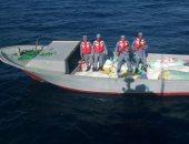 القوات البحرية تنجح فى إنقاذ لنش سياحى من الغرق بالبحر الأحمر