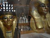 جولة بالفيديو.. شاهد مومياوات ومقتنيات يويا وتويا فى المتحف المصرى بالتحرير