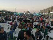 صور.. جماهير المصرى تحتشد فى بورسعيد لمتابعة مباراة السوبر أمام الأهلى
