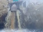 شكاوى من إلقاء مخلفات مصنع بنهر النيل بمدينة قوص فى قنا