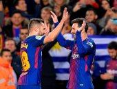 شاهد.. برشلونة يكتسح سيلتا فيجو بخماسية ويتأهل لربع نهائى كأس إسبانيا