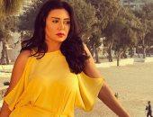 """رانيا يوسف فى شوارع المهندسين بسبب  """"عش الدبابير"""""""