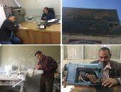 """فيديو وصور.. قصة أول مركز لصناعة الأطراف الصناعية فى الصعيد.. أسيوط تعيد الأمل لذوى الإعاقة بـ9 محافظات.. """"مدير المركز"""": نصنع الأطراف والدراجة الثلاثية والكرسى المتحرك.. و""""العمال"""": نسعى لرسم البسمة على وجوهم"""