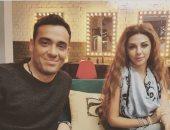 """رامى جمال ينشر صورة بصحبة ميريام فارس ويعلق: """"انتظروا المفاجأة"""""""