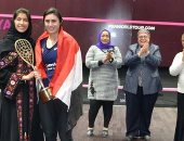 """نور الشربينى: """"سعيدة وفخورة بفوزى بلقب بطولة السعودية الأولى للاسكواش"""""""