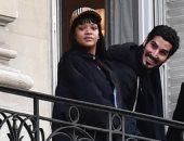 ريهانا تقضى إجازة رومانسية فى باريس مع صديقها الملياردير السعودى حسن جميل