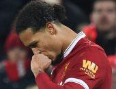 تقارير: فان ديك يغيب عن ليفربول أمام مانشستر سيتى للإصابة