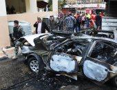 إصابة أحد مسؤولى حركة حماس الفلسطينية فى انفجار صيدا جنوب لبنان (صور)