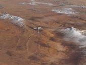 ناسا تكشف عن صور ملتقطة من الفضاء لتساقط الثلج بالصحراء الكبرى