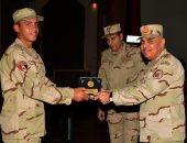 وزير الدفاع يلتقى أعضاء هيئة التدريس وطلبة كلية الضباط الاحتياط